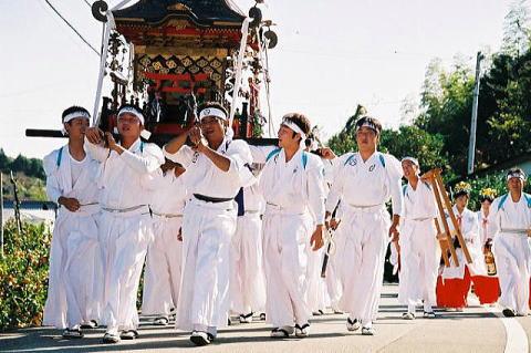 高知の祭(浅上王子宮)